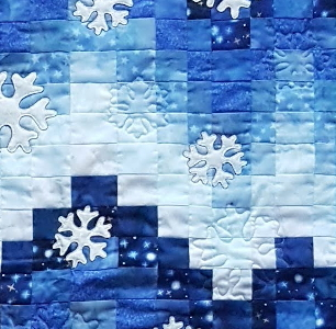 factured winter quilting