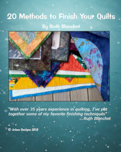 20 methods to finishing your quilts
