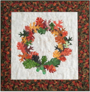 Thanksgiving Wreath quilt