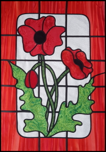 stained glass poppy version2