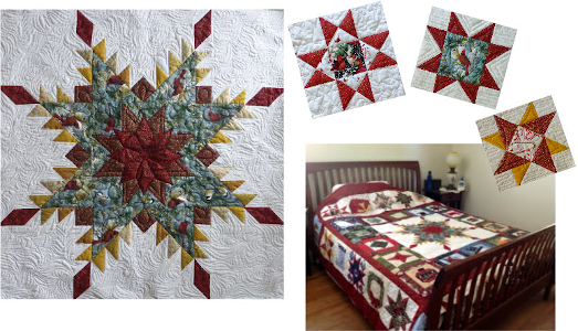 design your own christmas quilt