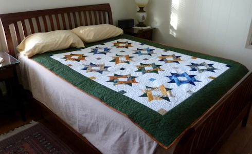 entwined star bed
