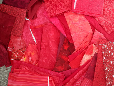 fabric red reds