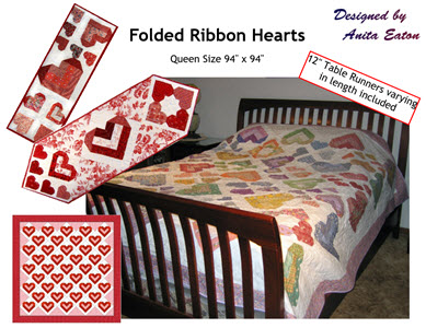 folded ribbon heart cover photo300