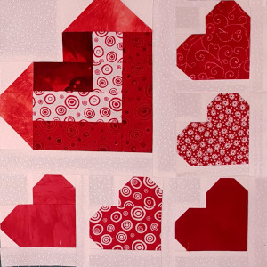 heart block multi size sections