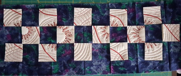 spring challenge w5 auditioning fabric