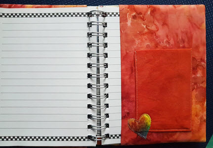 bookcover with pocket