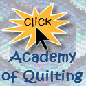 quilting classes available at the Academy of Quilting
