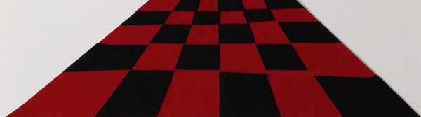 black and red floor small