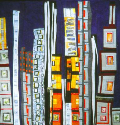 towerblocks by Elizabeth Barton