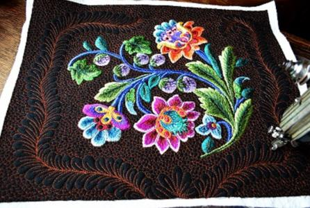 embroidered design
