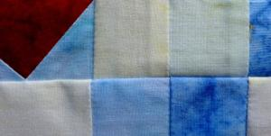 Seams are corrected by butting them together