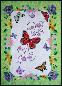 BOM butterfly quilt Spring Life500