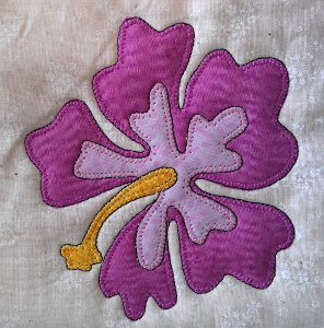 flower block blanket stitch with dark outline